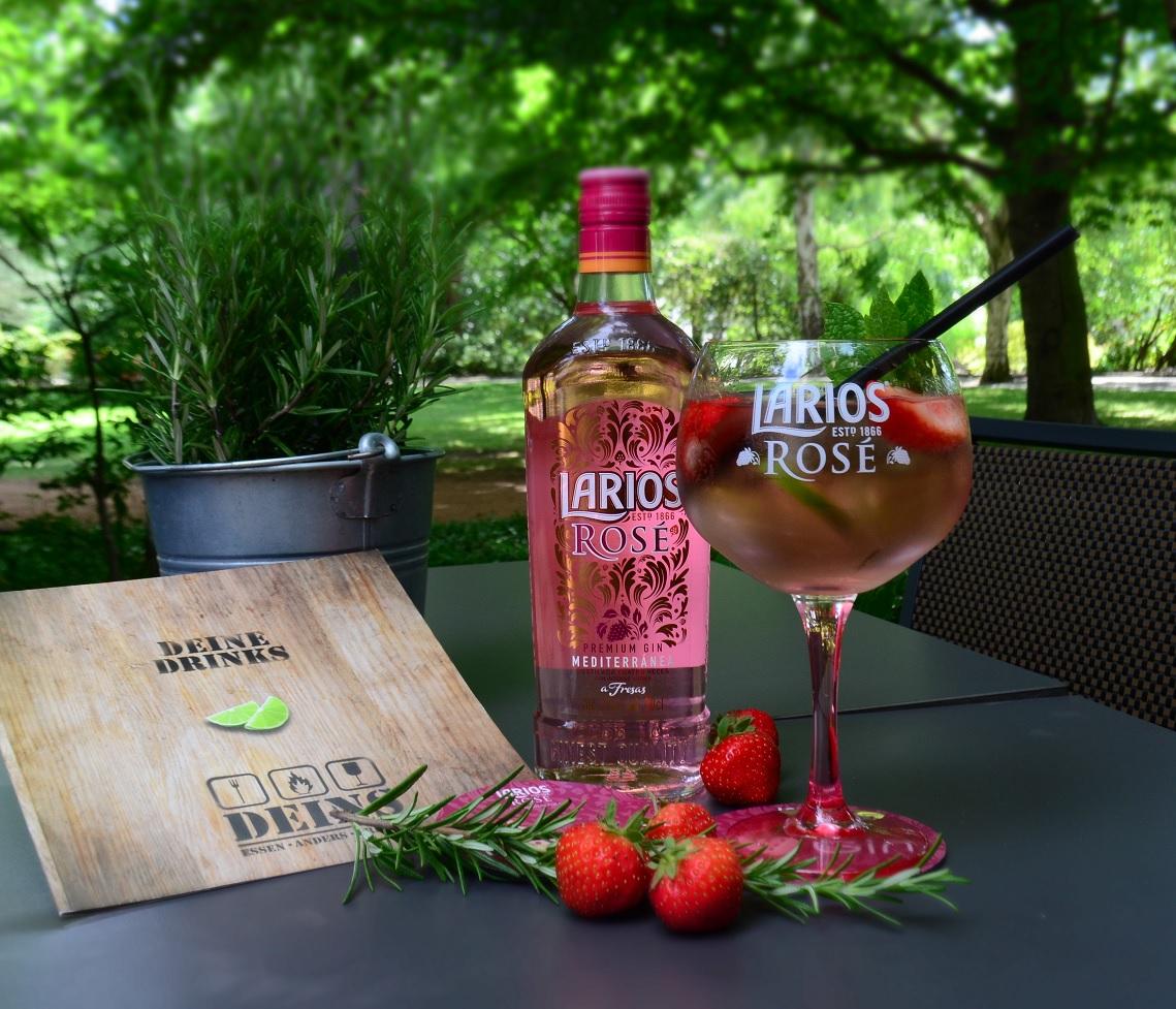 DEINS.TREND – Larios Rosé Gin